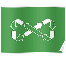 Mobius Says Recycle Poster
