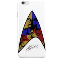 Star Trek The Original Series (White) iPhone Case/Skin
