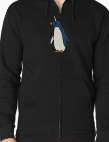 Penguicorn (Penguin Unicorn) Zipped Hoodie