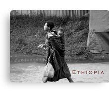 Ethiopia art 9 Canvas Print
