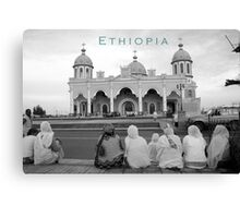 Ethiopia art 15 Canvas Print
