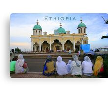 Ethiopia art 16 Canvas Print