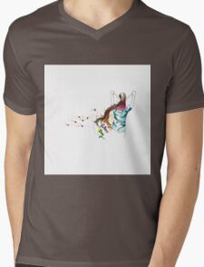 father and daughter , Happy Fathers day! Mens V-Neck T-Shirt