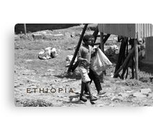 Ethiopia art 29 Canvas Print