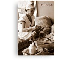 Ethiopia art 32 Canvas Print