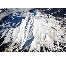 Mt. Bachelor from Above Photographic Print