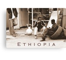 Ethiopia art 43 Canvas Print