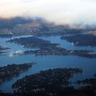 Over Lake Tapps by Tori Snow