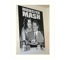 Monster Mash in Edinburgh, Scotland Art Print