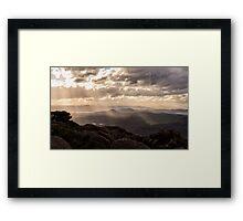 Tasmanian Winter Light Framed Print