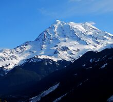The mighty Mount Rainier by Jodi Morgan