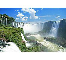 Iguassu Falls - Brazil Photographic Print