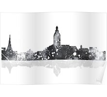Annapolis Maryland Skyline Poster