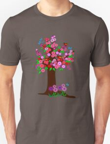 Spring tree with blossoms Unisex T-Shirt