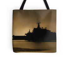 Navy Patrol Tote Bag