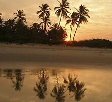 Colva sunrise by photoartindia
