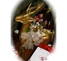 Golden Rudolph Photographic Print