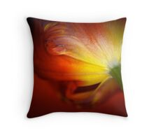 red on red Throw Pillow