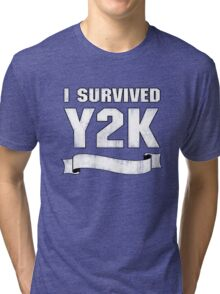Y2K Survivor Tri-blend T-Shirt