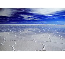 Solar Uyuni - Bolivia Photographic Print