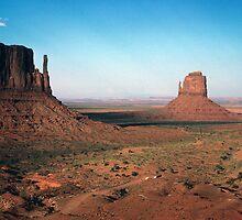 The Mittens, Monument Valley by nealbarnett
