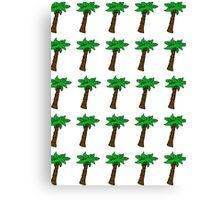Palm Tree Pattern Canvas Print