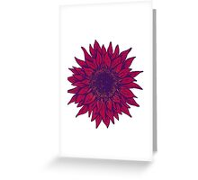 Flower Greeting Card