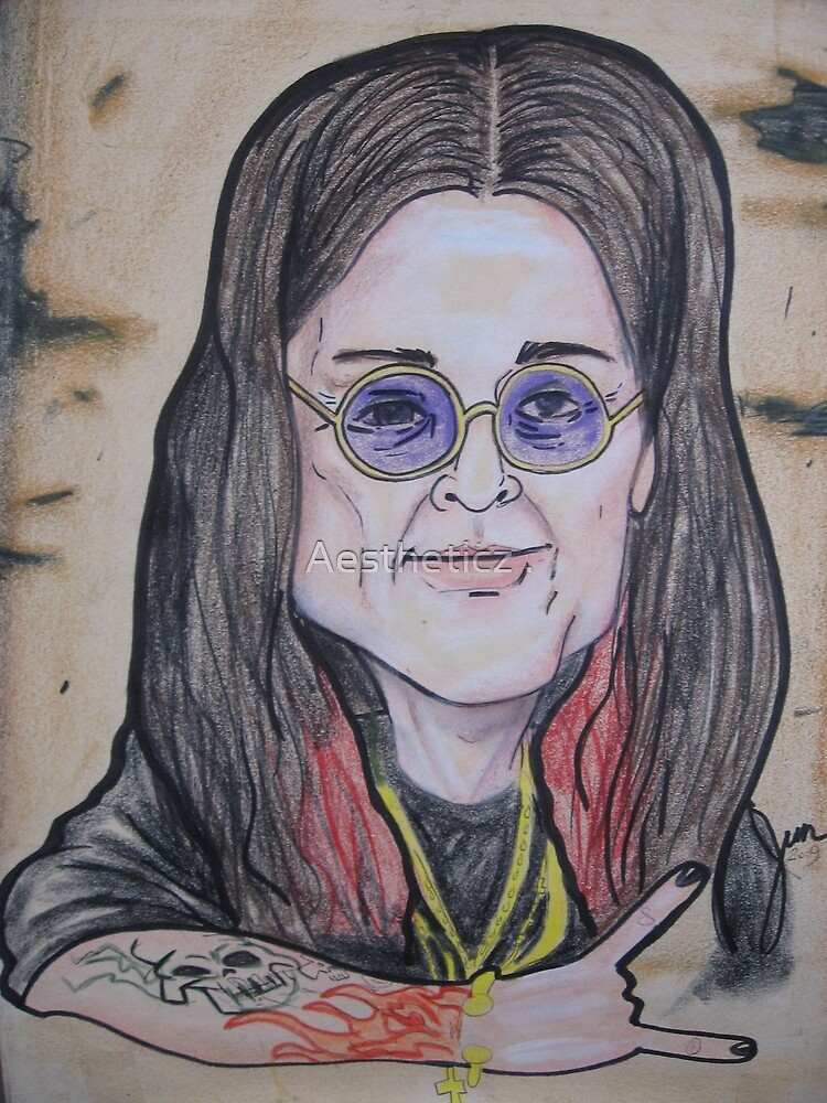 OZZY caricature by Aestheticz .