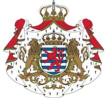 Coat of Arms of Luxembourg Photographic Print