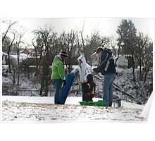 Winter Family Fun Poster