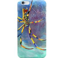 Golden Orb Weaver Spider iPhone Case/Skin