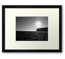 Joss Bay, Kingsgate, Broadstairs, Kent Framed Print