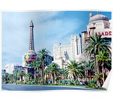 The Vegas Strip Poster