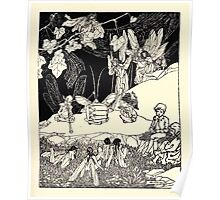 The Zankiwank & the Bletherwitch by Shafto Justin Adair Fitz Gerald art Arthur Rackham 1896 0055 Music Poster