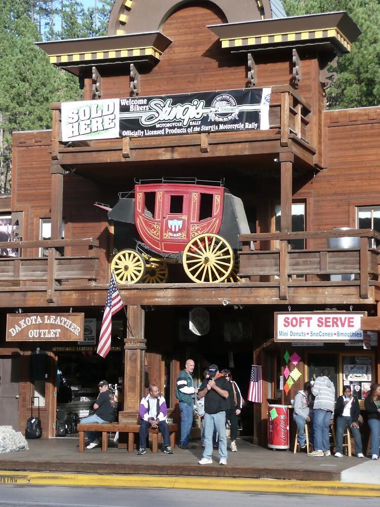 Rifle Saloon Bar, Rifle, Colorado. by Mywildscapepics