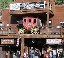 Rifle Saloon Bar, Rifle, Colorado. by Mywildscapepics