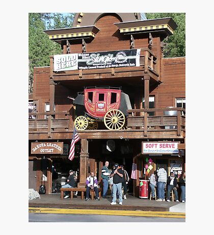 Rifle Saloon Bar, Rifle, Colorado. Photographic Print