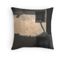 Shadows of the unseen Throw Pillow
