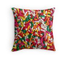 Sprinkle On The Sprinkles Throw Pillow