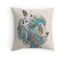Unbound Autonomy (Blue) Throw Pillow