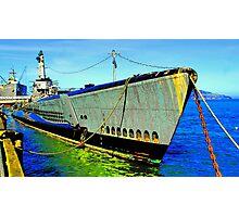 USS Pompanito Sureal Photographic Print
