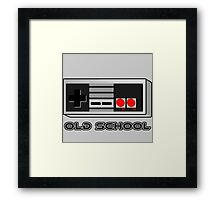 NES - Nintendo Entertainment System  Framed Print