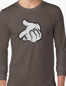 Gun Hands Long Sleeve T-Shirt