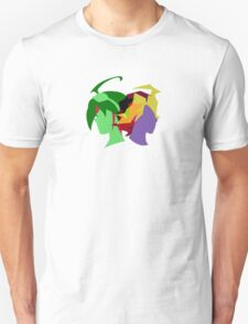 Arc V Ship Silhouette- Yuya/Shingo Unisex T-Shirt