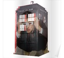 Doctor Who 3D TARDIS  Poster
