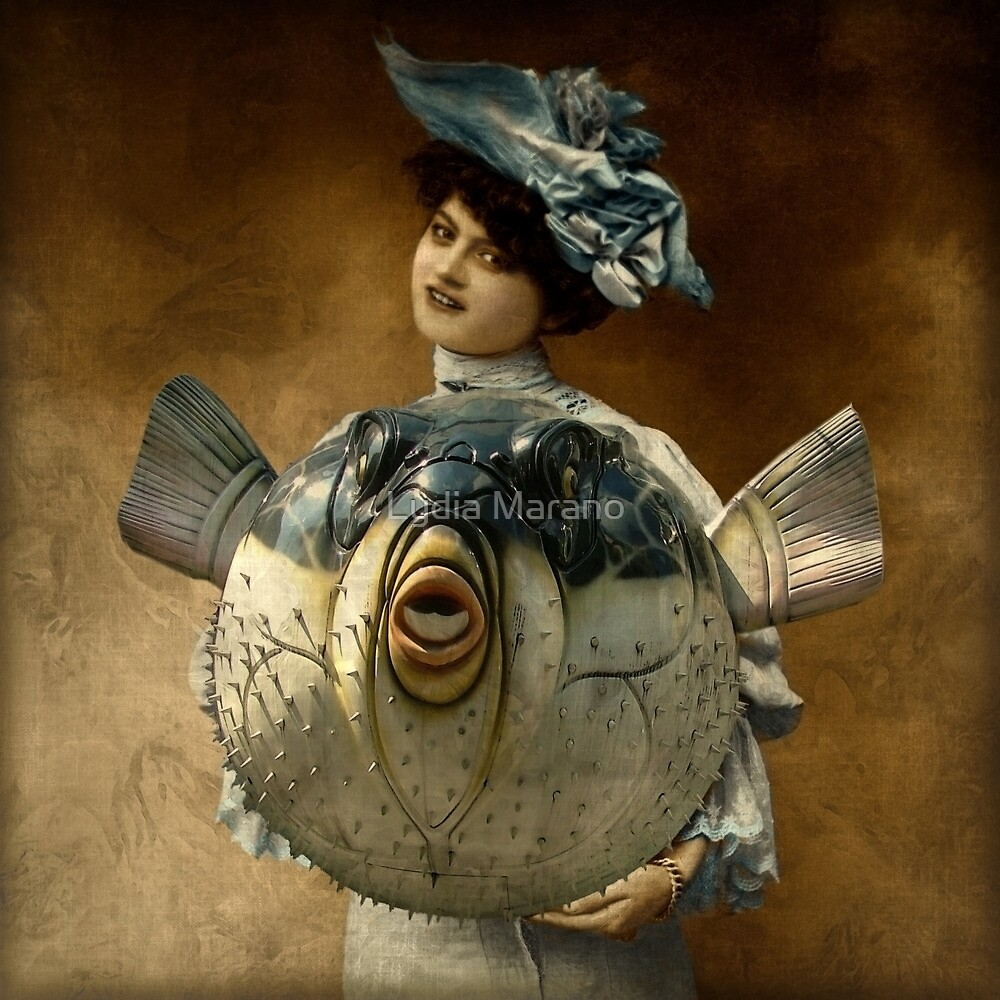 Blue Ribbon Fugu by Lydia Marano