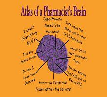Funny Pharmacist's Brain T-Shirt Unisex T-Shirt