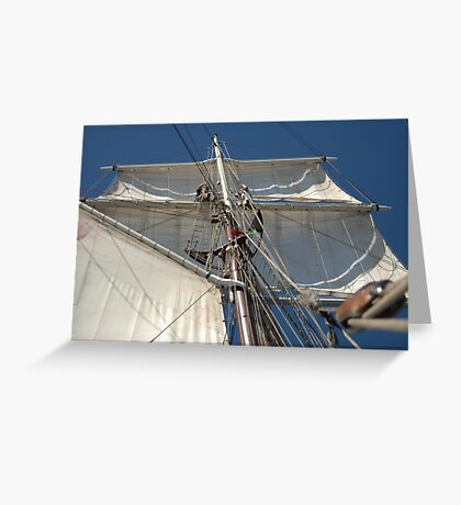 "Sailing: Schoner ""Sir Robert"" VI - www.sir-robert.com Greeting Card"