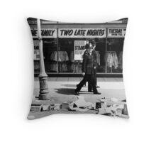 Laughhing Cops 1970 Throw Pillow