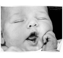 Baby Yawns Poster